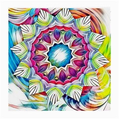 Sunshine Feeling Mandala Medium Glasses Cloth (2 Side) by designworld65