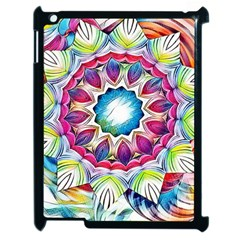Sunshine Feeling Mandala Apple Ipad 2 Case (black) by designworld65