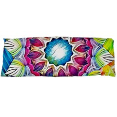 Sunshine Feeling Mandala Body Pillow Case Dakimakura (two Sides) by designworld65