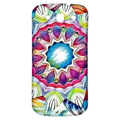 Sunshine Feeling Mandala Samsung Galaxy S3 S Iii Classic Hardshell Back Case by designworld65