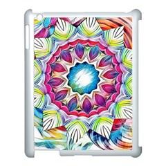 Sunshine Feeling Mandala Apple Ipad 3/4 Case (white) by designworld65