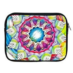 Sunshine Feeling Mandala Apple Ipad 2/3/4 Zipper Cases by designworld65