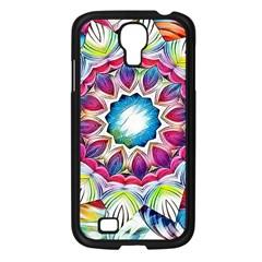 Sunshine Feeling Mandala Samsung Galaxy S4 I9500/ I9505 Case (black) by designworld65
