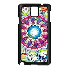 Sunshine Feeling Mandala Samsung Galaxy Note 3 N9005 Case (black) by designworld65
