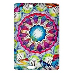 Sunshine Feeling Mandala Amazon Kindle Fire Hd (2013) Hardshell Case by designworld65