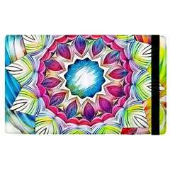 Sunshine Feeling Mandala Apple Ipad Pro 12 9   Flip Case by designworld65