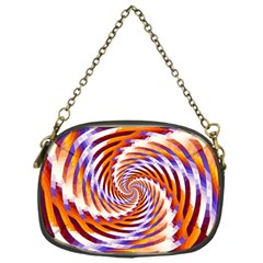 Woven Colorful Waves Chain Purses (one Side)  by designworld65