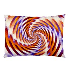 Woven Colorful Waves Pillow Case (two Sides) by designworld65