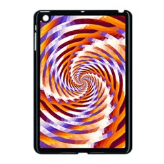 Woven Colorful Waves Apple Ipad Mini Case (black) by designworld65