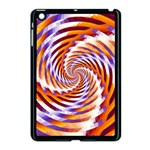 Woven Colorful Waves Apple iPad Mini Case (Black) Front