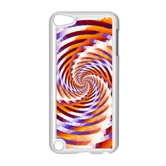 Woven Colorful Waves Apple Ipod Touch 5 Case (white) by designworld65