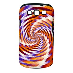 Woven Colorful Waves Samsung Galaxy S Iii Classic Hardshell Case (pc+silicone) by designworld65