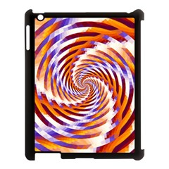 Woven Colorful Waves Apple Ipad 3/4 Case (black) by designworld65