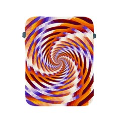 Woven Colorful Waves Apple Ipad 2/3/4 Protective Soft Cases by designworld65