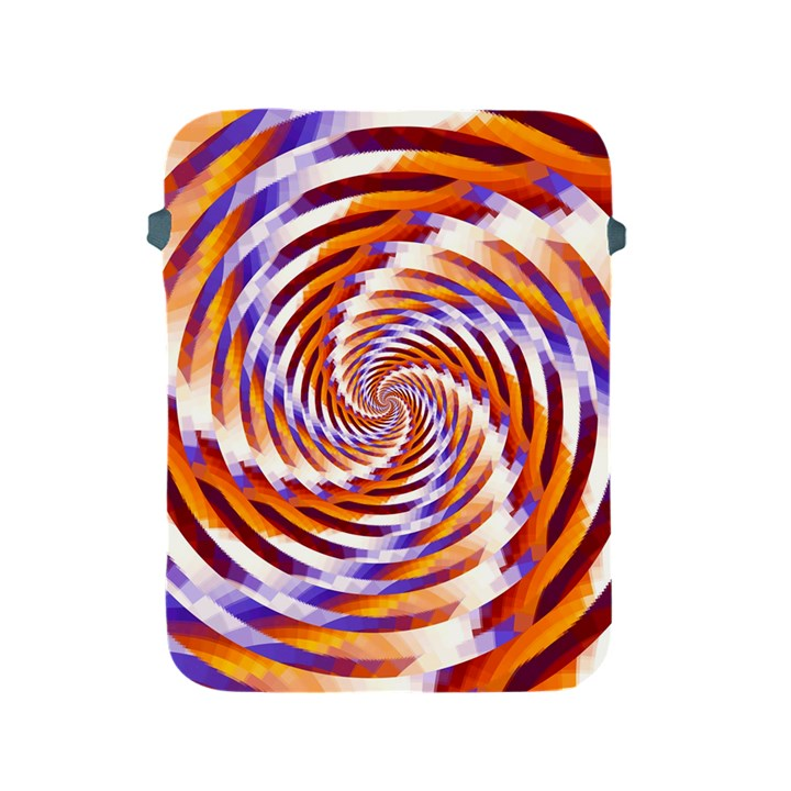 Woven Colorful Waves Apple iPad 2/3/4 Protective Soft Cases