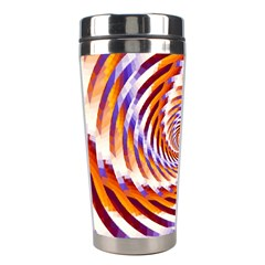 Woven Colorful Waves Stainless Steel Travel Tumblers by designworld65