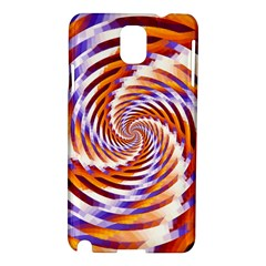 Woven Colorful Waves Samsung Galaxy Note 3 N9005 Hardshell Case by designworld65