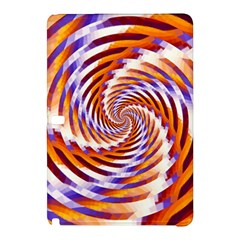 Woven Colorful Waves Samsung Galaxy Tab Pro 10 1 Hardshell Case by designworld65