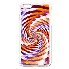 Woven Colorful Waves Apple Iphone 6 Plus/6s Plus Enamel White Case by designworld65