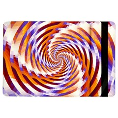 Woven Colorful Waves Ipad Air 2 Flip by designworld65
