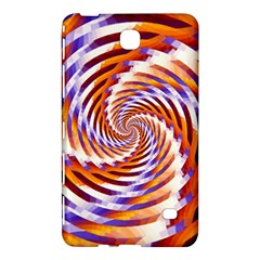 Woven Colorful Waves Samsung Galaxy Tab 4 (8 ) Hardshell Case  by designworld65