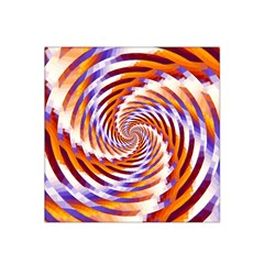 Woven Colorful Waves Satin Bandana Scarf by designworld65