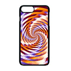 Woven Colorful Waves Apple Iphone 7 Plus Seamless Case (black) by designworld65