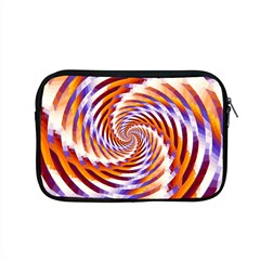 Woven Colorful Waves Apple Macbook Pro 15  Zipper Case by designworld65
