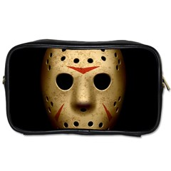 Jason Hockey Goalie Mask Toiletries Bags 2 Side by Zhezhe