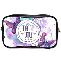 Thank You Toiletries Bags 2 Side by Zhezhe