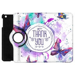 Thank You Apple Ipad Mini Flip 360 Case by Zhezhe