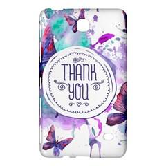 Thank You Samsung Galaxy Tab 4 (8 ) Hardshell Case  by Zhezhe