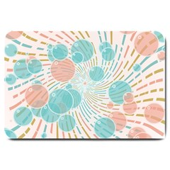 Bubbles Large Doormat  by linceazul