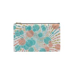 Bubbles Cosmetic Bag (small)  by linceazul