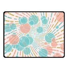 Bubbles Fleece Blanket (small) by linceazul
