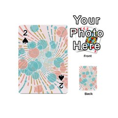 Bubbles Playing Cards 54 (mini)  by linceazul