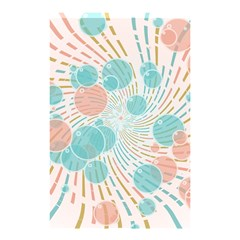 Bubbles Shower Curtain 48  X 72  (small)  by linceazul