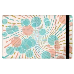 Bubbles Apple Ipad 2 Flip Case by linceazul