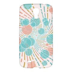 Bubbles Samsung Galaxy S4 I9500/i9505 Hardshell Case by linceazul
