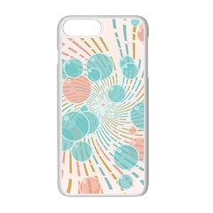 Bubbles Apple Iphone 7 Plus White Seamless Case by linceazul