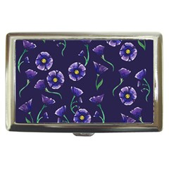 Floral Cigarette Money Cases