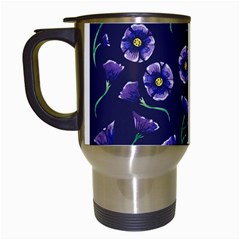 Floral Travel Mugs (white) by BubbSnugg