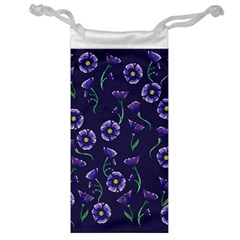 Floral Jewelry Bag