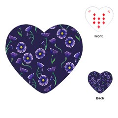Floral Playing Cards (heart)