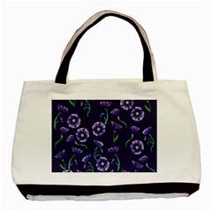 Floral Basic Tote Bag