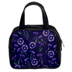 Floral Classic Handbags (2 Sides) by BubbSnugg
