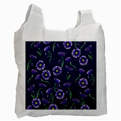 Floral Recycle Bag (two Side)