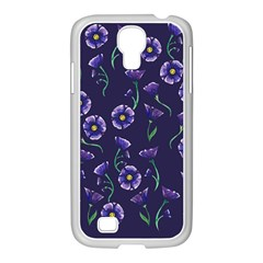 Floral Samsung Galaxy S4 I9500/ I9505 Case (white)