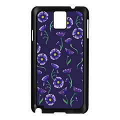 Floral Samsung Galaxy Note 3 N9005 Case (black)