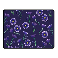 Floral Double Sided Fleece Blanket (small)